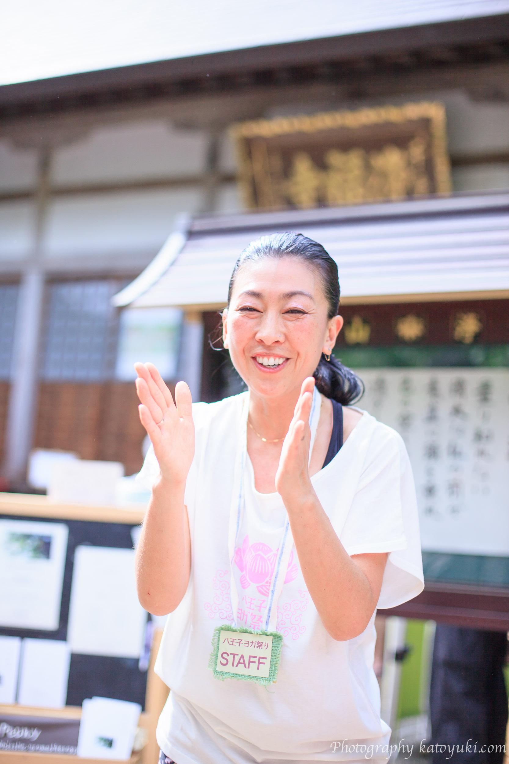 第8回八王子ヨガ祭り2018青空ヨガ