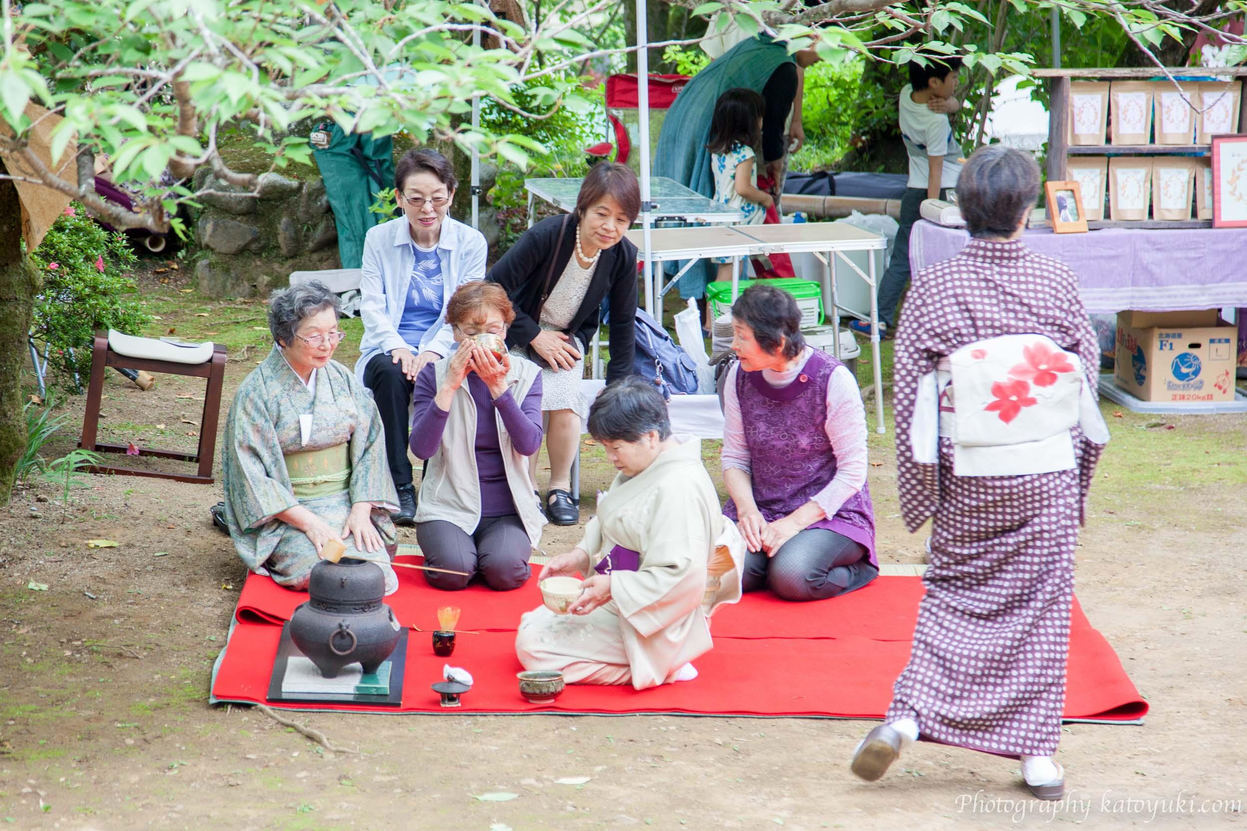 第8回八王子ヨガ祭り2018江戸千家ワンコイン茶会