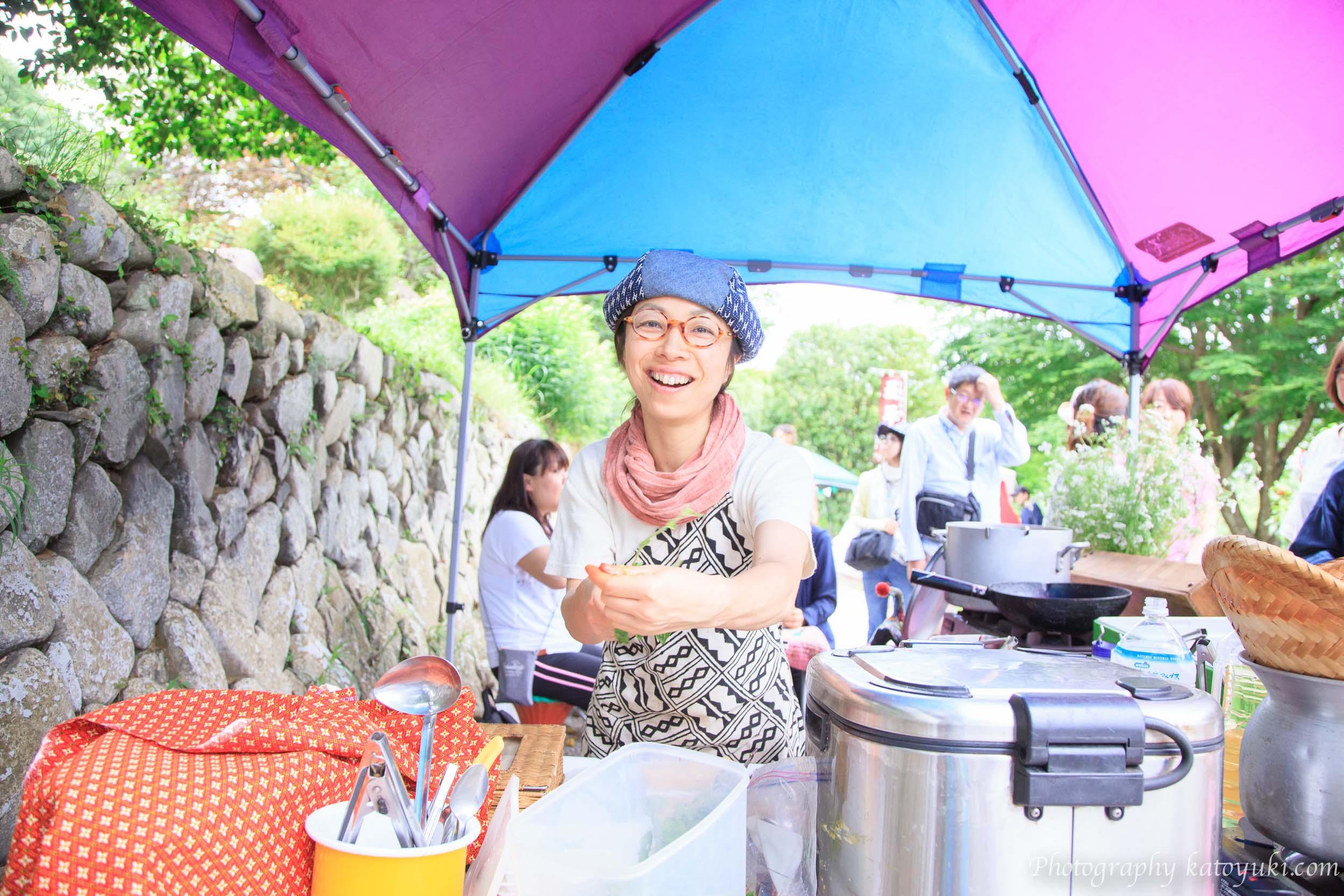 第8回八王子ヨガ祭り2018メイノブ食堂