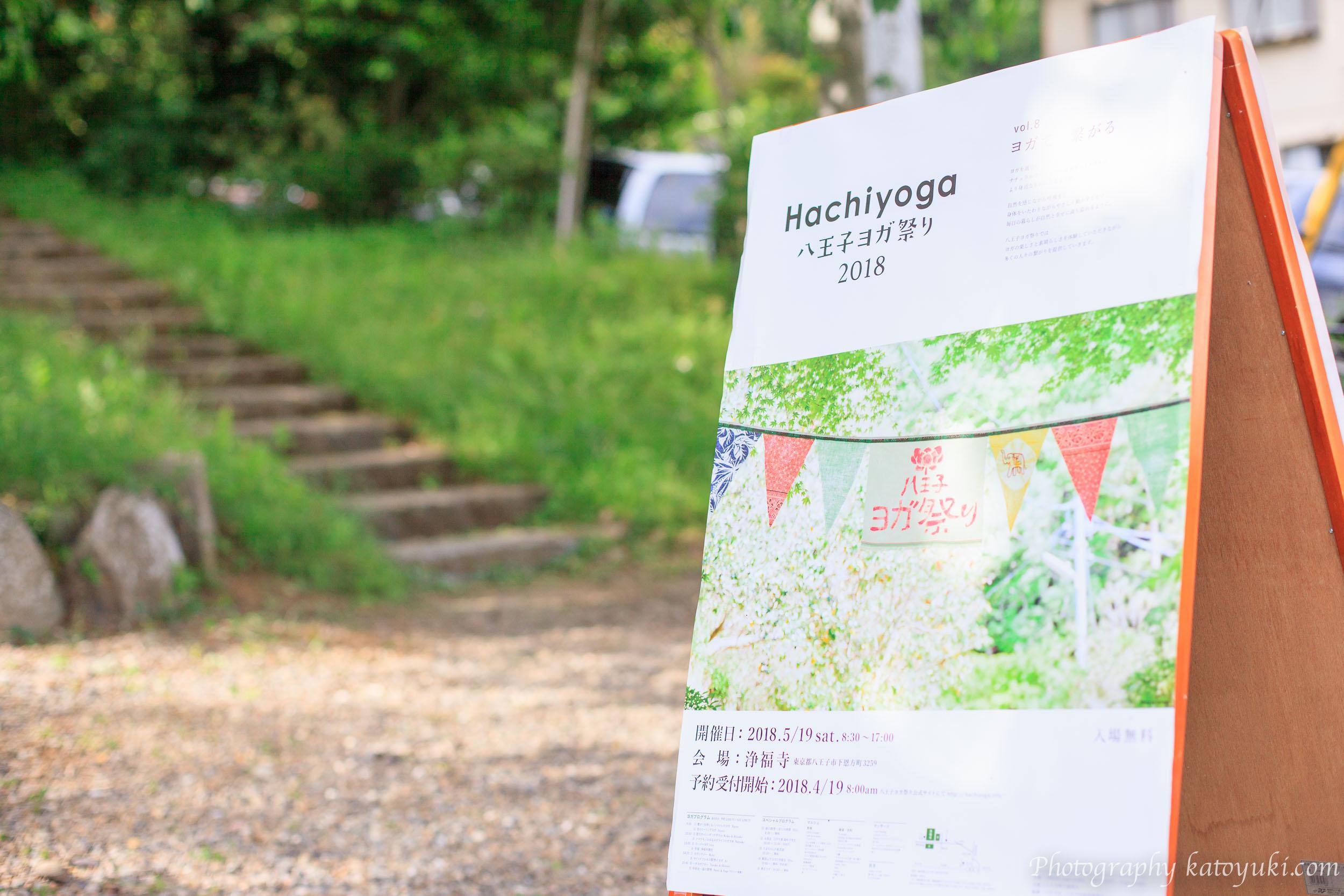 第8回八王子ヨガ祭りポスター