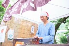 第8回八王子ヨガ祭り2018団子屋けんちゃん