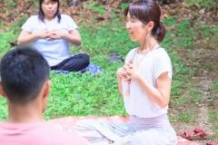 第8回八王子ヨガ祭り観音山ヨガと瞑想(Hiro)