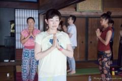 八王子ヨガ祭り「ハタヨガフロー」Yasuko & Hiromi