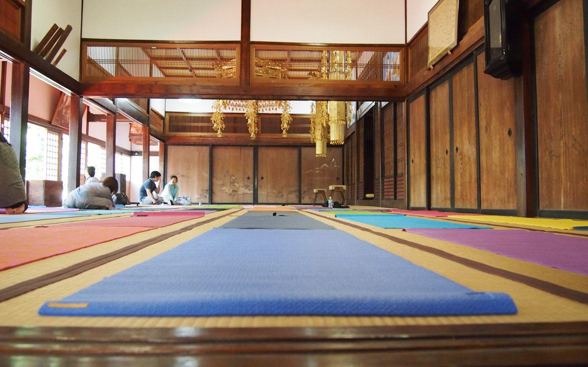 八王子ヨガ祭り浄福寺本堂